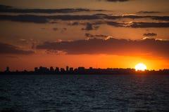 Paysage urbain Sunet de Buenos Aires Navigation Amérique du Sud, Argentine Photographie stock