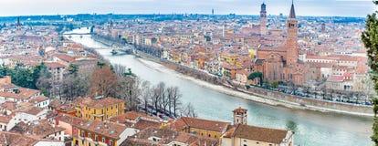 Paysage urbain Vérone en Italie Photo libre de droits
