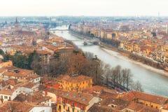 Paysage urbain Vérone en Italie Image stock