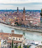 Paysage urbain Vérone en Italie Photo stock