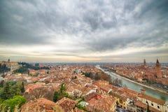 Paysage urbain Vérone en Italie Images stock