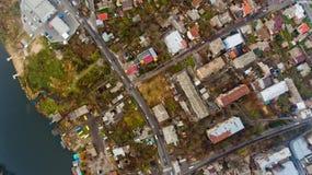 Paysage urbain Vinnytsia, Ukraine Photographie stock libre de droits
