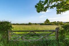 Paysage vert du Sussex images stock
