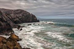 Paysage volcanique de Fuerteventura, Îles Canaries, Espagne Photographie stock
