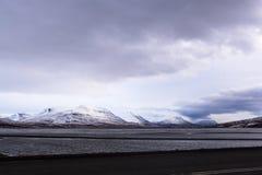 Paysage volcanique de montagne en Islande Photos libres de droits