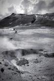 Paysage volcanique Islande Photos libres de droits