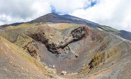 Paysage volcanique pittoresque du mont Etna, Sicile, Italie images stock