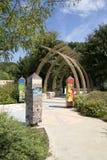 Paysages chez le jardin Dallas d'aventure des enfants image stock