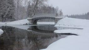 Paysages d'hiver clips vidéos