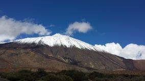 paysages de Canadas del Teide en hiver Photos stock