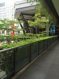 Paysages de centre commercial Photographie stock