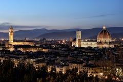 Paysages de Florence Photos libres de droits