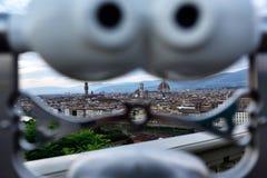 Paysages de Florence Photo libre de droits