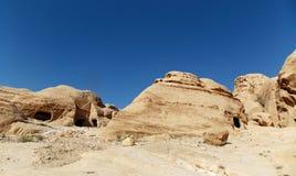 Paysages de PETRA, Jordanie image stock