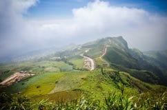 Paysages de PhuPhaengMa Photographie stock