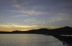 Paysages de réservation naturelle de Diaccia Botrona image stock