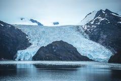 Paysages et fjords du Chili photographie stock libre de droits