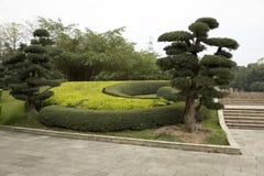 Paysages gentils en montagne de Qingxiu de ville de Nanning Photos stock