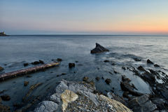 Paysages marins toscans image stock