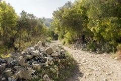 Paysages naturels de Carosello cave Noto - en Italie photo libre de droits