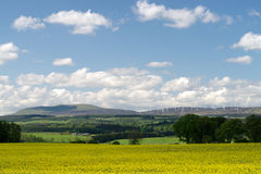 Paysages ruraux de ressort photographie stock libre de droits