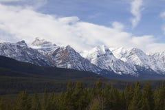 Paysages scéniques en Jasper National Park, Alberta, Canada Photo stock