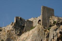 Paysages typiques de la Les-Baux-De-Provence images stock