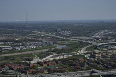 Paysages urbains de Fort Worth Image stock