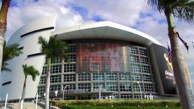 Paysages urbains de Miami Etats-Unis d'arène d'American Airlines clips vidéos