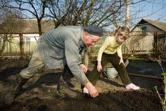 paysan de cuisine de jardin Image libre de droits