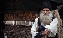 Paysan roumain photo libre de droits