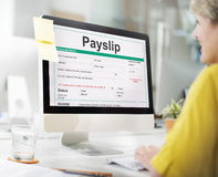 Payslip Purchase Order Form Concept Royalty Free Stock Image
