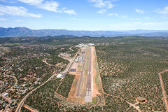 Авиапорт в Payson, Аризоне Стоковое Изображение