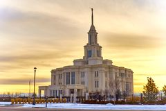 Payson Utah LDS Temple Stock Photography