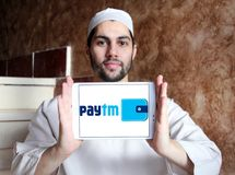 Paytm Payments bank logo Stock Image