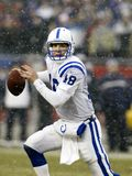 Payton Manning dos Indianapolis Colts Fotografia de Stock Royalty Free