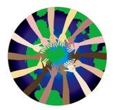 Paz 2 del mundo Imágenes de archivo libres de regalías