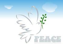 Paz stock de ilustración