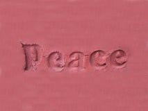 Paz Fotografia de Stock