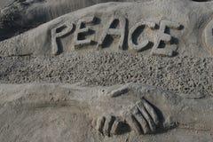 Paz ao mundo Fotografia de Stock Royalty Free