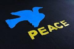 Paz de la paloma Fotografía de archivo