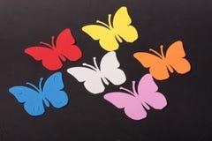 Paz de los juguetes de los animales de las mariposas Imagen de archivo libre de regalías