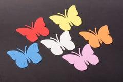 Paz de los juguetes de los animales de las mariposas Foto de archivo libre de regalías