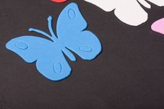 Paz de los juguetes de los animales de las mariposas Foto de archivo