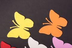 Paz de los juguetes de los animales de las mariposas Imagen de archivo