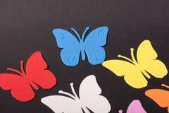 Paz de los juguetes de los animales de las mariposas Fotos de archivo