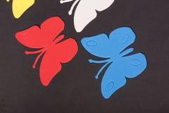 Paz de los juguetes de los animales de las mariposas Imágenes de archivo libres de regalías