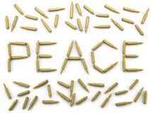 Paz de los puntos negros Fotografía de archivo libre de regalías