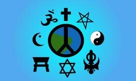 Paz de mundo Foto de archivo libre de regalías