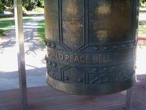 Paz de mundo Bell Foto de Stock Royalty Free